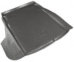 Коврик в багажник для BMW 5 E60 '03-10 седан, полиуретановый (NorPlast) черный