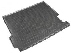 Коврик в багажник для BMW X3 F25 '10-17, полиуретановый (NorPlast) черный