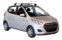 Багажник на крышу для Hyundai i-10 '07-13, до края опоры (Whispbar-Prorack)