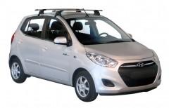 Багажник на крышу для Hyundai i-10 '07-13, сквозной (Whispbar-Prorack)