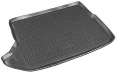 Коврик в багажник для Dodge Caliber '07-12, полиуретановый (NorPlast) черный