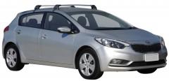 Багажник на крышу для Kia Cerato '13- хэтчбек, до края опоры (Whispbar-Prorack)