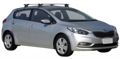Багажник на крышу для Kia Cerato '13- хэтчбек, сквозной (Whispbar-Prorack)