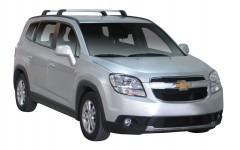 Багажник в штатные места для Chevrolet Orlando '11-, до края опоры (Whispbar-Prorack)