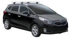 Багажник на низкие рейлинги для Kia Carens '13-, сквозной (Whispbar-Prorack)