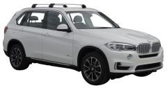 Багажник на низкие рейлинги для BMW X5 F15 '14-, до края опоры (Whispbar-Prorack)
