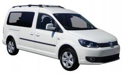 Багажник на рейлинги для Volkswagen Caddy Maxi '16-, вровень рейлинга (Whispbar-Prorack)