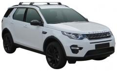 Багажник на рейлинги для Land Rover Discovery Sport '14-, до края опоры (Whispbar-Prorack)