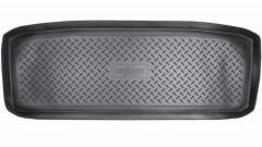 Коврик в багажник для Infiniti QX56 '07-10, полиуретановый (NorPlast) черный