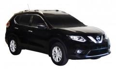 Багажник на рейлинги для Nissan X-Trail (T32) '14-, вровень рейлинга (Whispbar-Prorack)