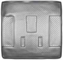Коврик в багажник для Cadillac Escalade III '07-13, полиуретановый, длинный (NorPlast) черный