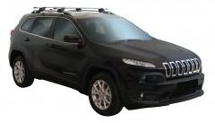 Багажник на рейлинги для Jeep Cherokee '14-, сквозной (Whispbar-Prorack)