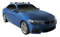 Багажник в штатные места для BMW 2 F45/F22 '13-, до края опоры (Whispbar-Prorack)