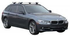 Багажник на низкие рейлинги для BMW 3 F31 '12-, сквозной (Whispbar-Prorack)