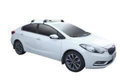 Багажник на крышу для Kia Cerato '13- седан, до края опоры (Whispbar-Prorack)