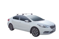 Багажник на крышу для Kia Cerato '13- седан, сквозной (Whispbar-Prorack)
