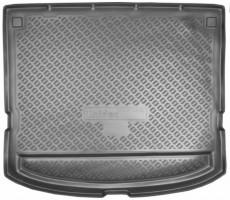 Коврик в багажник для Kia Carens '07-12, полиуретановый (NorPlast) черный