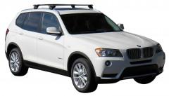 Багажник на низкие рейлинги для BMW X3 F25 '10-17, сквозной (Whispbar-Prorack)