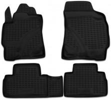 Коврики в салон для Ford Maverick '01- полиуретановые, черные (Novline / Element)
