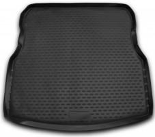 Коврик в багажник для Nissan Almera '13-, полиуретановый (Novline / Element) 999tlg15bl