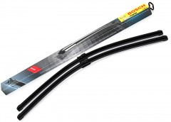 Щетки стеклоочистителя бескаркасные Bosch AeroTwin 700 и 700 мм. для Peugeout 407 '04-10 (к-кт.) A 976 S