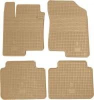 Коврики в салон для Kia Magentis '06-11 резиновые, бежевые (Stingray)