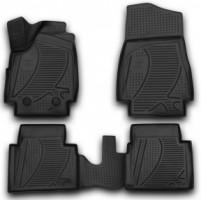 Коврики в салон 3D для Lada (Ваз) Niva 2121 '09- 3 дв. полиуретановые (Novline / Element)