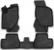 Novline Коврики в салон 3D для Lada (Ваз) Granta 2190 '11- полиуретановые (Novline)