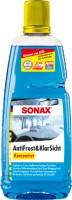 Жидкость-концентрат в бачок стеклоомывателя Sonax AntiFrost&KlarSicht Konzetrat -70°C 1 л.