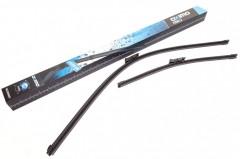 Щетки стеклоочистителя бескаркасные Oximo 600 и 450 мм. PushButton 16мм. (к-кт) WC4005501