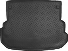 Коврик в багажник для Mercedes GLK-Class X204 '09-15, полиуретановый (NorPlast) черный