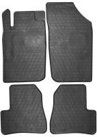 Коврики в салон для Peugeot 206 '98-09 резиновые (Stingray)