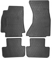 Коврики в салон для Audi A4 (B8) '08-15 резиновые (Stingray)