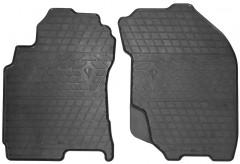 Коврики в салон передние для Nissan X-Trail '01-07 резиновые (Stingray)