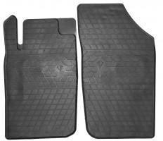 Коврики в салон передние для Peugeot 206 '98-09 резиновые (Stingray)