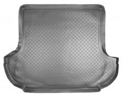 Коврик в багажник для Mitsubishi Outlander XL '07-12 (без сабвуфера), полиуретановый (NorPlast) черный