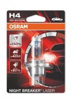 Автомобильная лампочка Osram Night Breaker Laser H4 12V