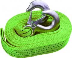 Трос буксировочный 3 тонны ТР-206-3-1 3т 4м зеленый