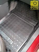 Фото 6 - Коврики в салон для Ravon R2 '15- резиновые, черные (AVTO-Gumm)