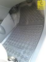 Фото 9 - Коврики в салон для Ravon R2 '15- резиновые, черные (AVTO-Gumm)