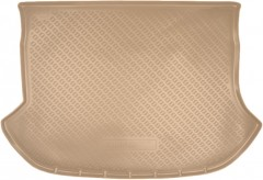 Коврик в багажник для Nissan Murano '08-14, полиуретановый (NorPlast) бежевый