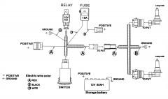 Фото 3 - Противотуманные фары для Mitsubishi Lancer X (10) '07-11 комплект (Dlaa) полноразмерные
