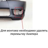Фото 5 - Противотуманные фары для Mitsubishi Lancer X (10) '07-11 комплект (Dlaa) полноразмерные