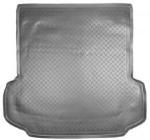 Коврик в багажник для Nissan Patrol '04-09, полиуретановый (NorPlast) черный