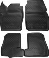 Novline Коврики в салон 3D для Ford Focus III '11- полиуретановые, черные (Novline)