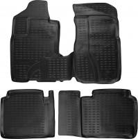 Коврики в салон для Honda CR-V '02-06 полиуретановые, черные (Novline / Element)