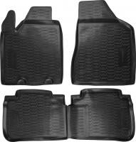 Коврики в салон для Nissan Murano '03-08, полиуретановые, черные (Novline / Element) 999RMZ50BL