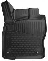 Фото 2 - Коврики в салон 3D для Skoda Superb '15- полиуретановые, черные (Novline/Element)