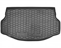Коврик в багажник для Toyota RAV-4 '13-18, hybrid, резиновый (AVTO-Gumm)