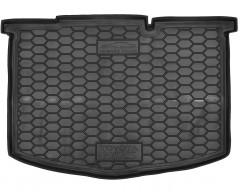 Коврик в багажник для Toyota Yaris '15-, нижний, резиновый (AVTO-Gumm)